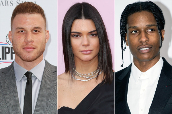 Blake Griffin, Kendall Jenner, A$AP Rocky