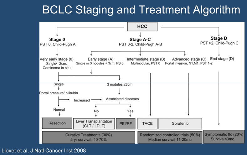 Therapy for Inoperable or Metastatic Hepatocellular carcinoma (HCC)