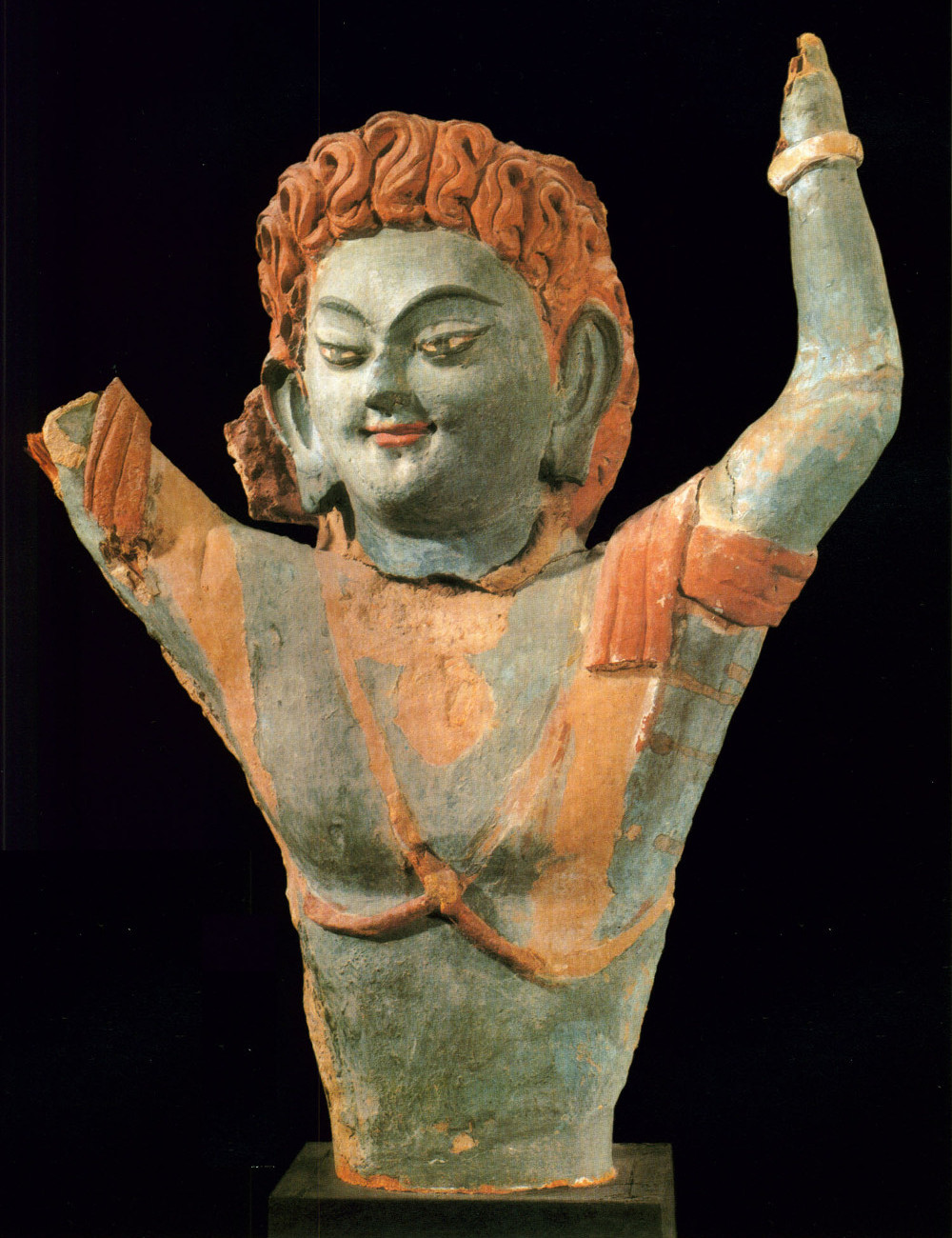 Half-Figure of a Male Deity