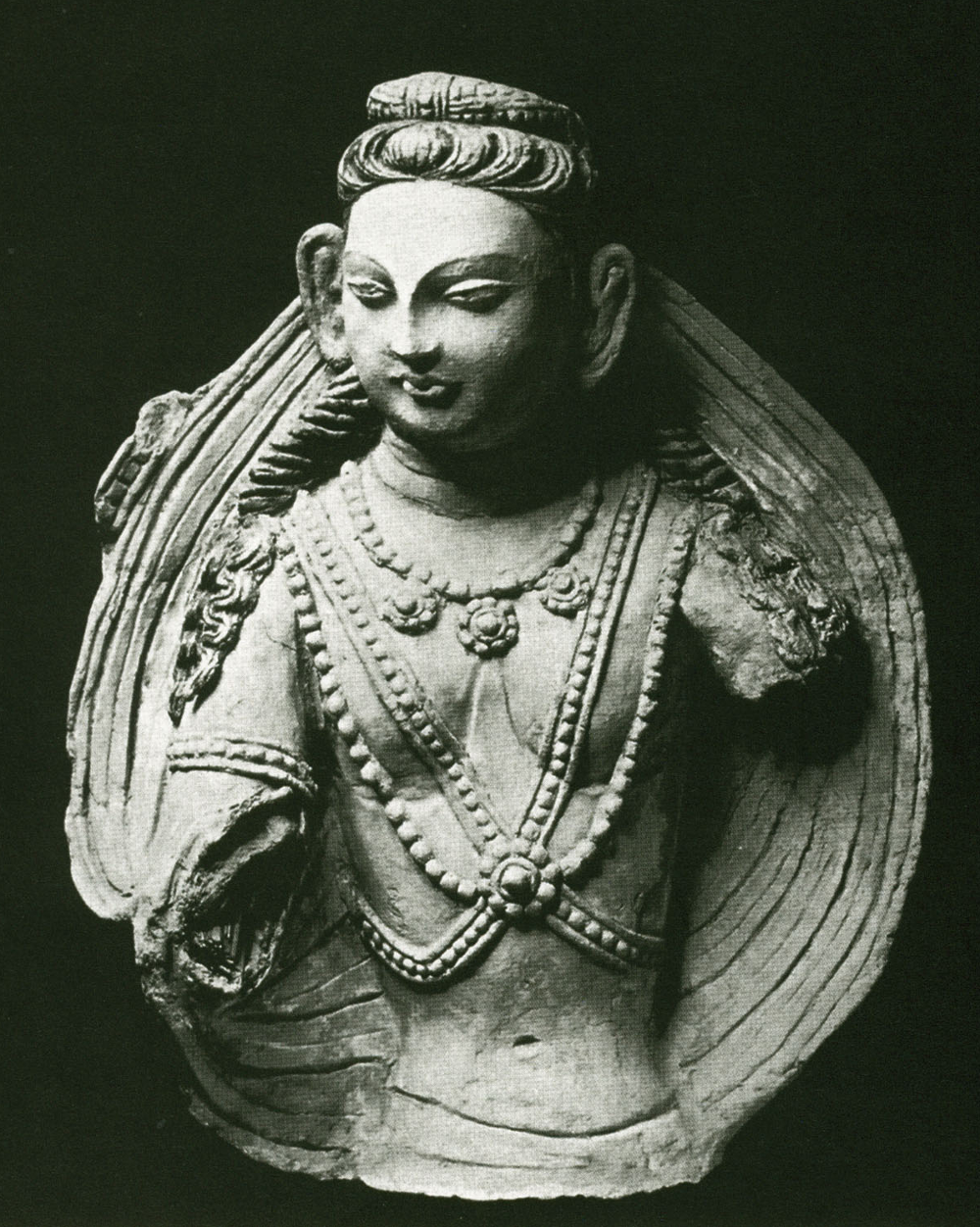 Half-Figure of a Devata