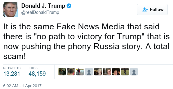 Is Trump/Russia story phony?