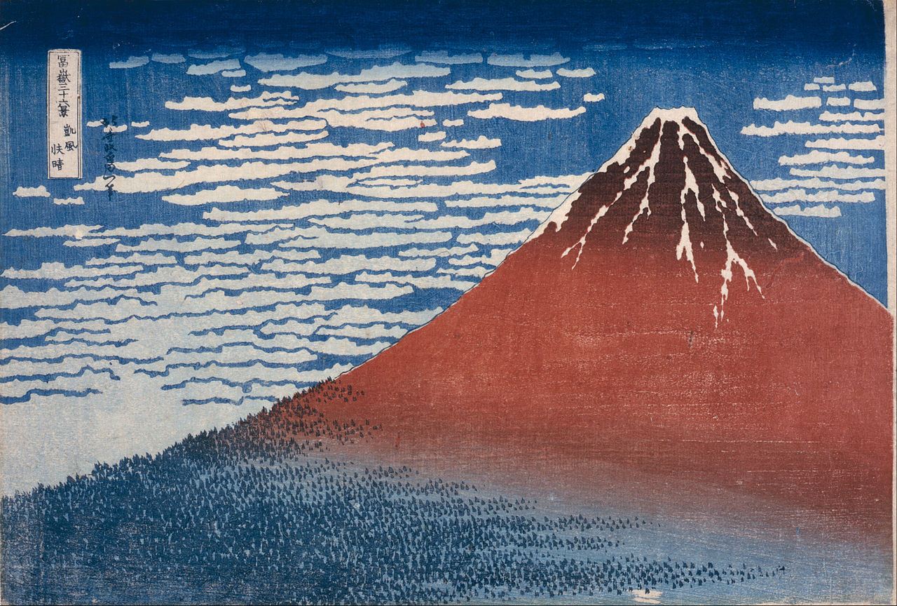 Hokusai's 'Fine Wind, Clear Morning'
