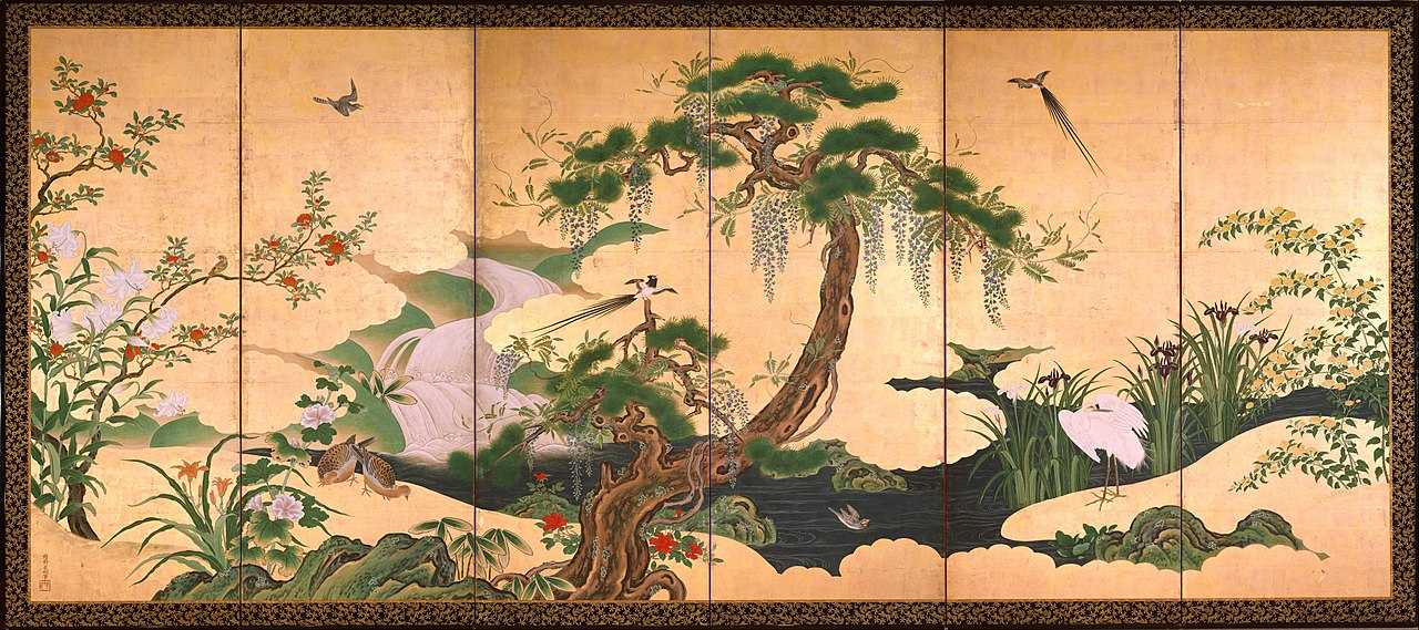 Birds and Flowers of Spring and Summer by Kanō Einō