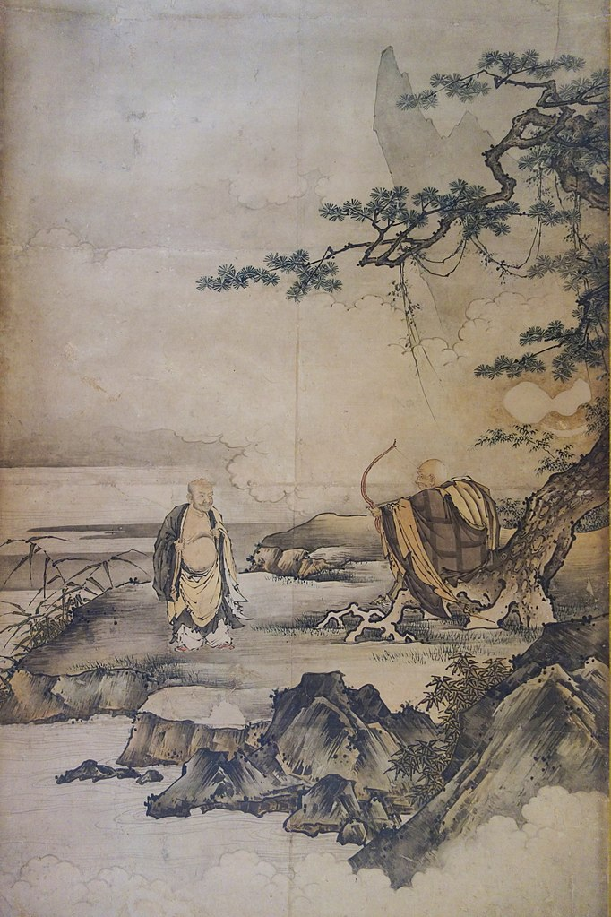 Patriarchs of Zen Buddhism by Kanō Motonobu
