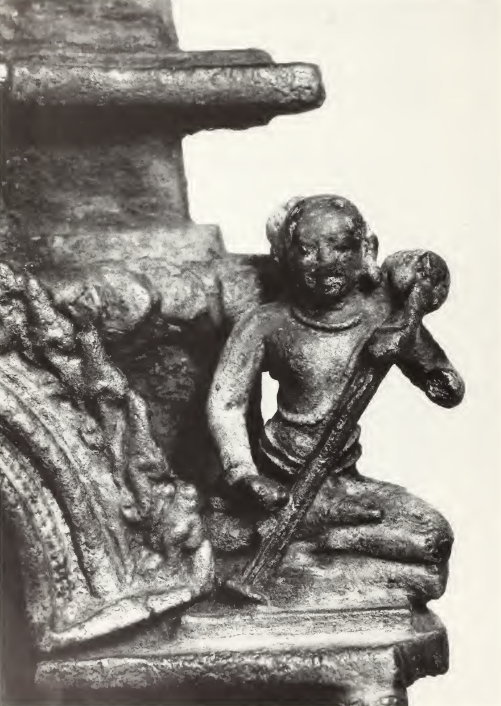 Kinnara, detail of figure