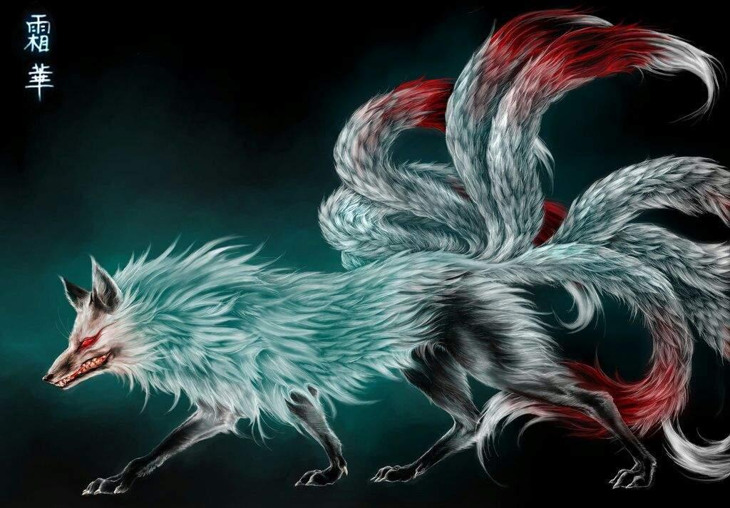 9 Tail Fox Concept Art