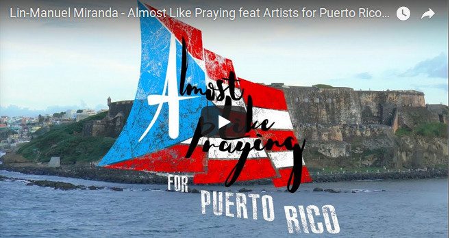 Lin-Manuel Miranda and Artists for Puerto Rico
