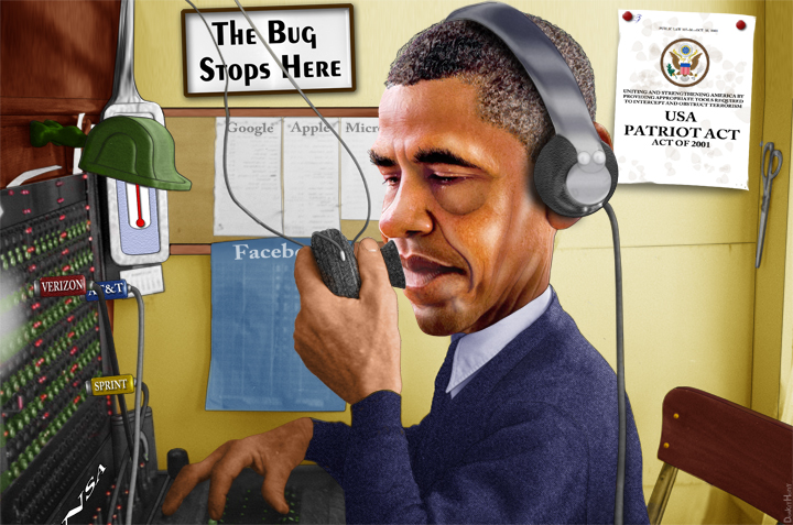 OBAMA WIRETAPPING