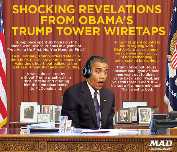 Obama Spied On Trump