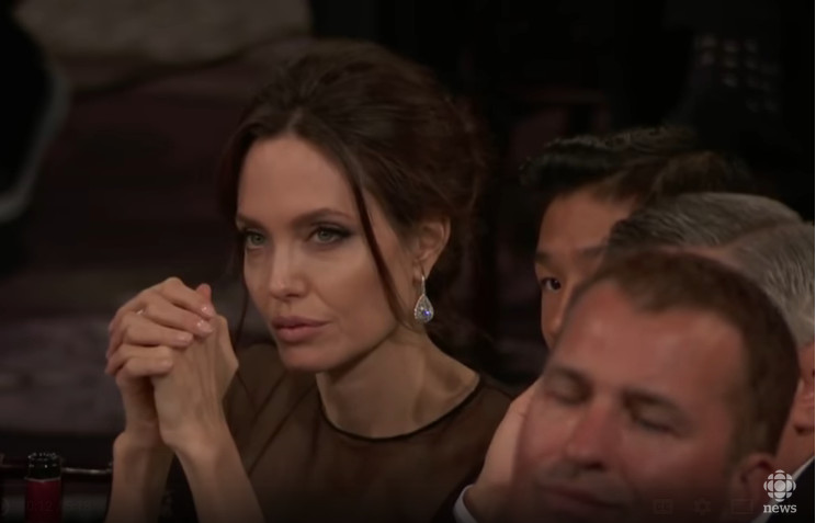 Angelina Jolie was impressed by Oprah Winfrey's speech
