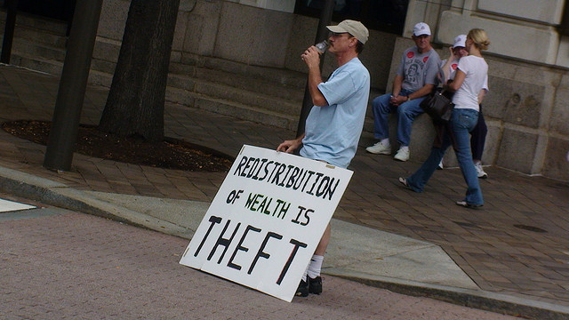 Redistribution of Wealth is Theft