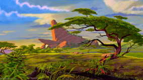 Tree of Tough Life in the 'Lion King'