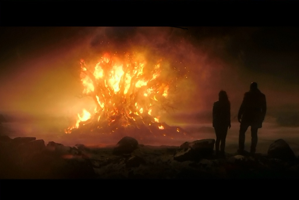 Burning Tree of Life in the movie 'The Last Witch Hunter'