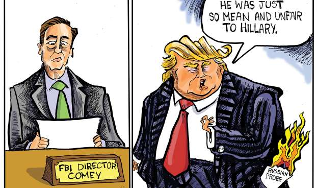Trump fired Comey
