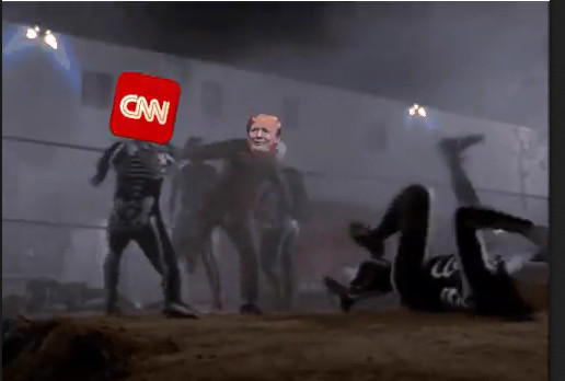 Trump vs CNN
