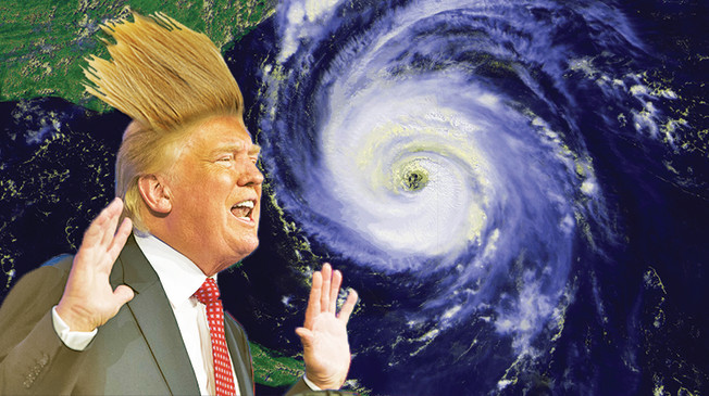 Donald Trump vs Hurricane Maria