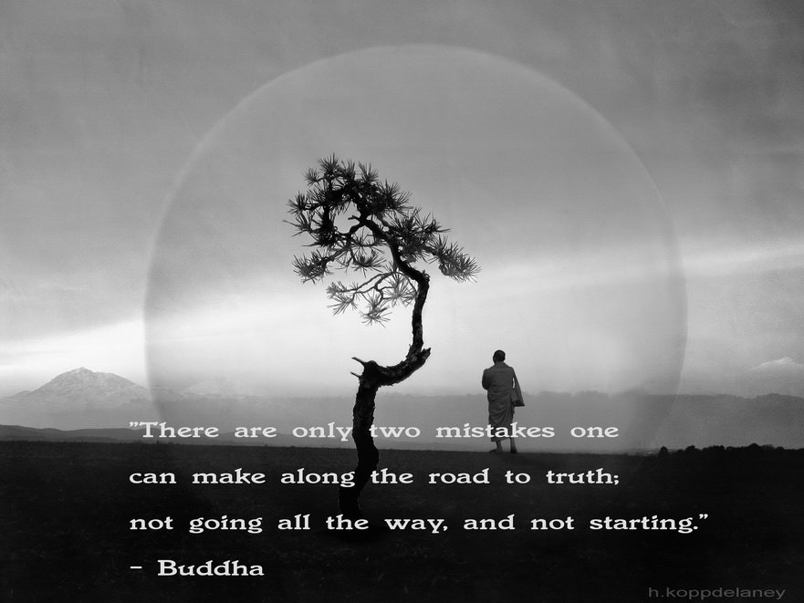 Buddha's road to truth
