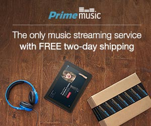 Amazon Prime Music Music Streaming Service
