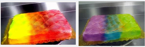 Color-Changing Cake