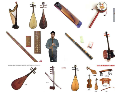 Traditional Chinese Music Instruments