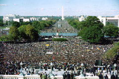The Million Man March, 1995