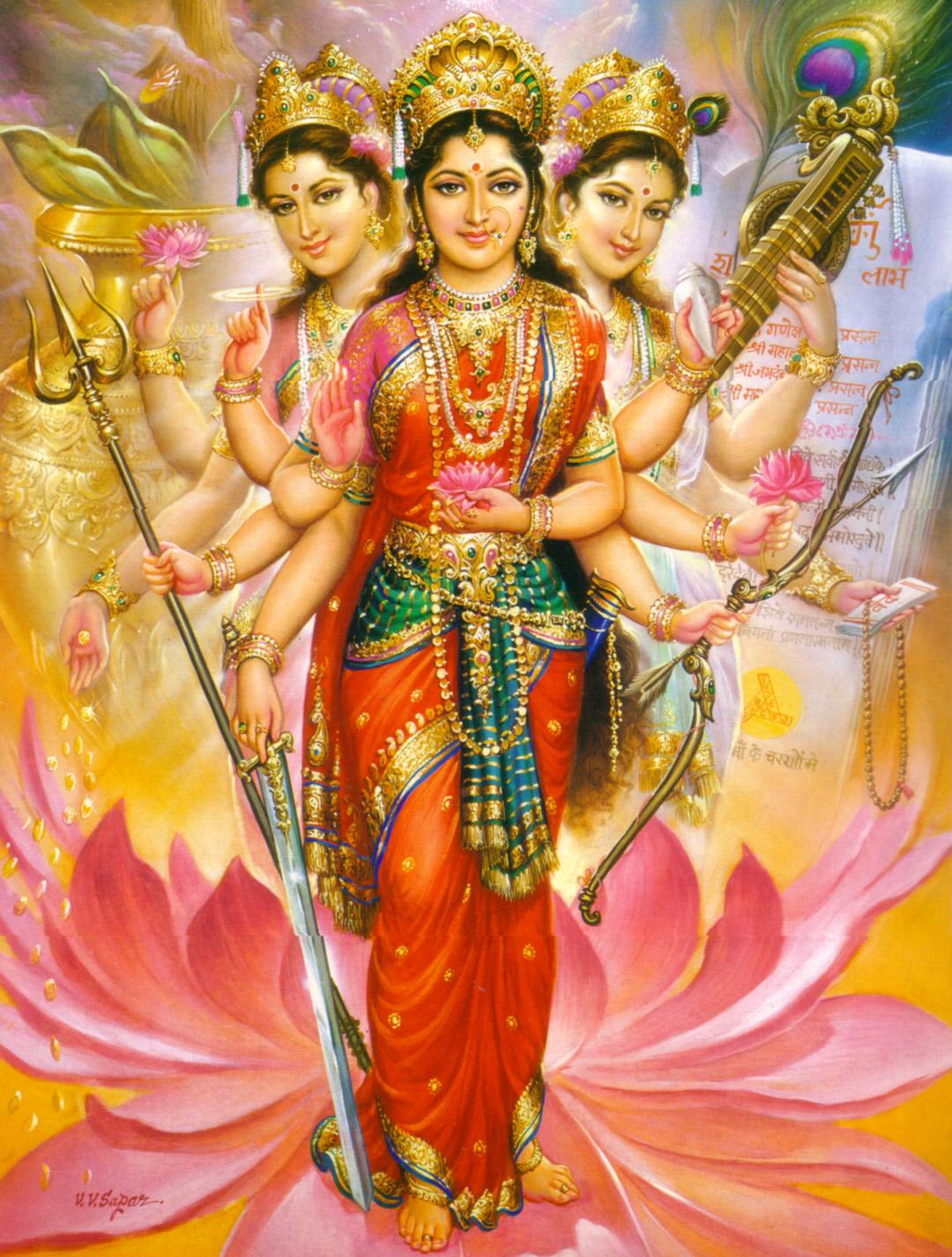 Lakshmi Wife of Vishnu Pic Avatars of Lakshmi Vishnu