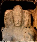 #8: Elephanta Caves Trimurti