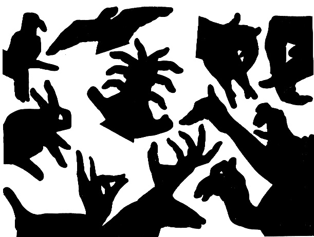 A collection of hand shadows made by Almoznino
