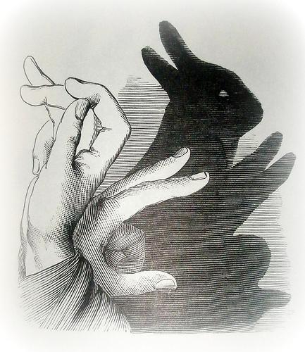hand shadow art