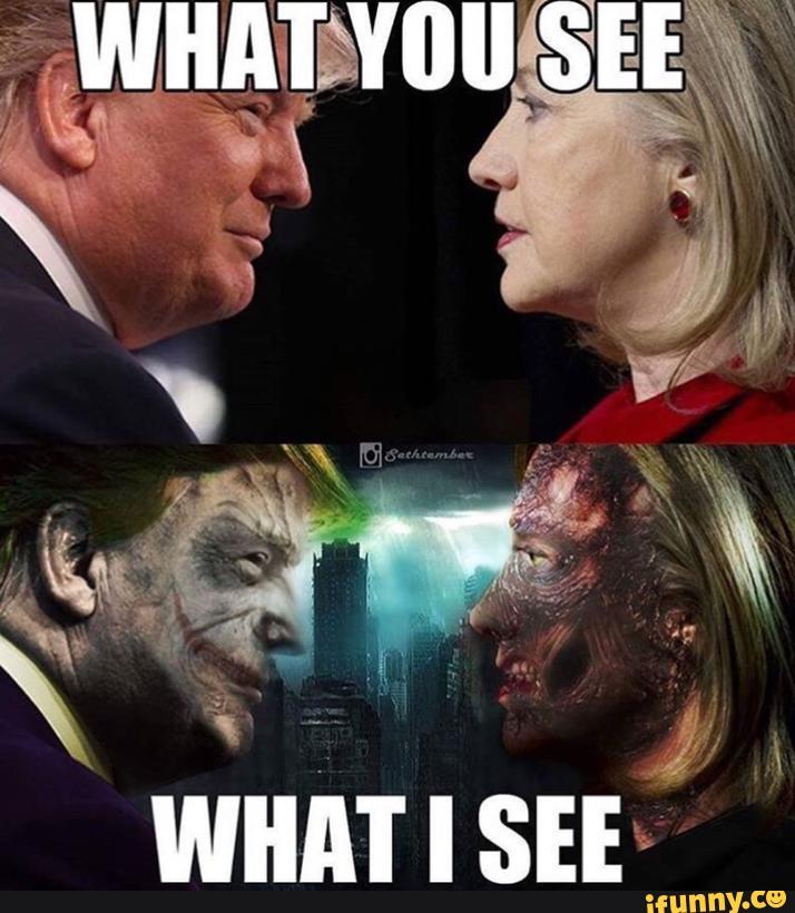 Humour Of Hillary Vs Trump