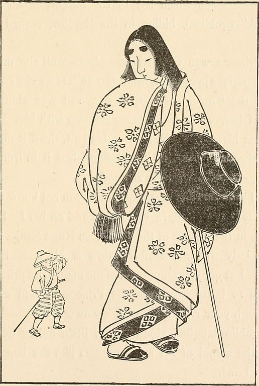 Issun-bōshi and the Lady