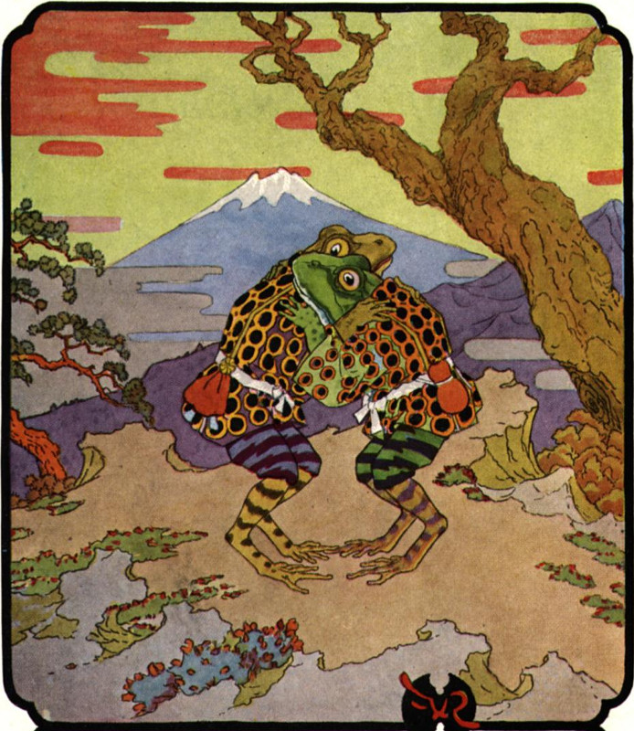 The Two Frogs (Japanese Folklore)