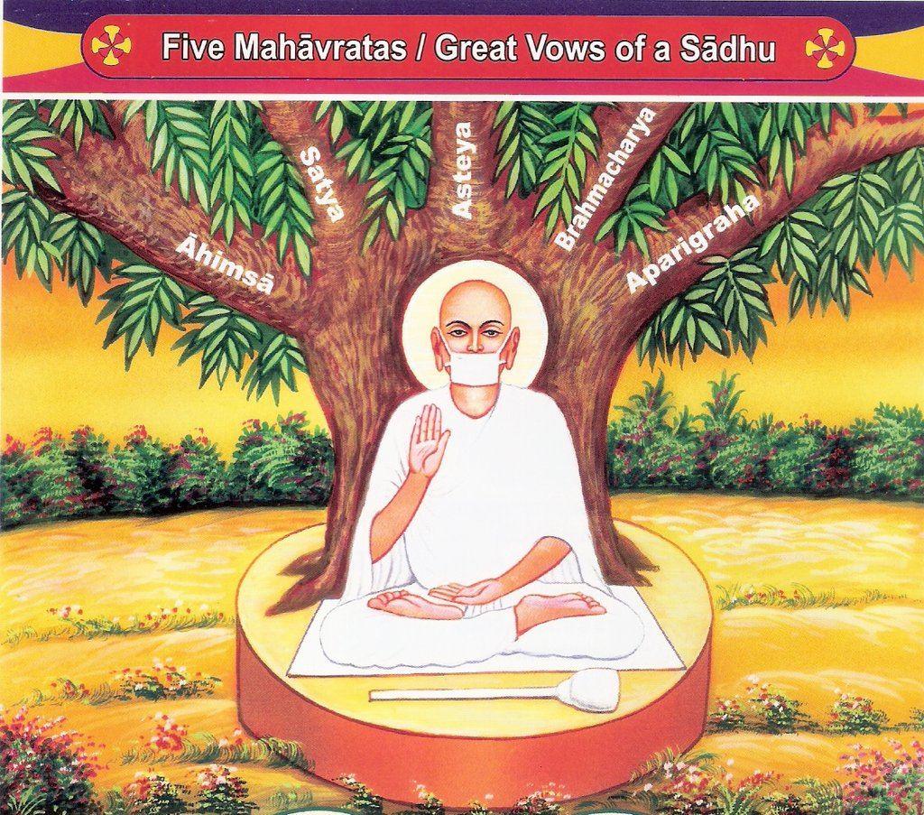 The Five Great Vows (maha-vrata) of Jainism