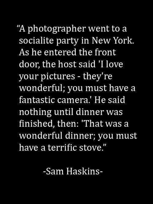 You must have a fantastic camera
