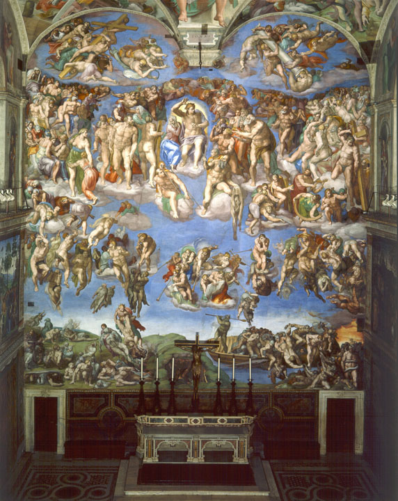 Michelangelo: The Last Judgement