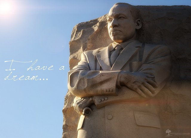 Martin Luther King : I have a dream !