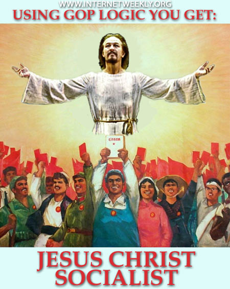 Jesus is a socialist