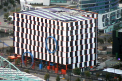 Optical illusion building in Melbourne