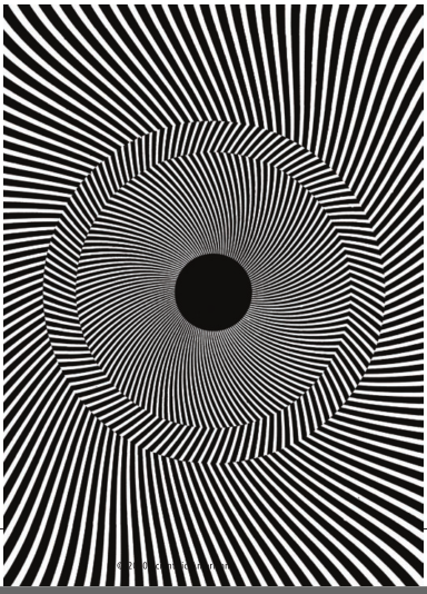 The Rotating-Tilted-Lines Illusion