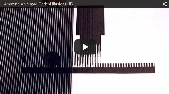 Amazing Animated Optical Illusions! #6