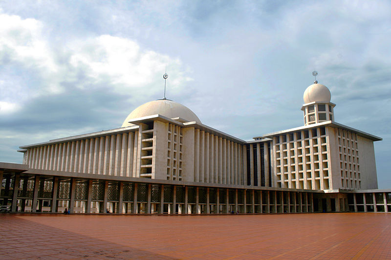 Istiqlal Mosque in Jakarta, Indonesia.