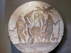 Roman Mosaic depicting Mithras