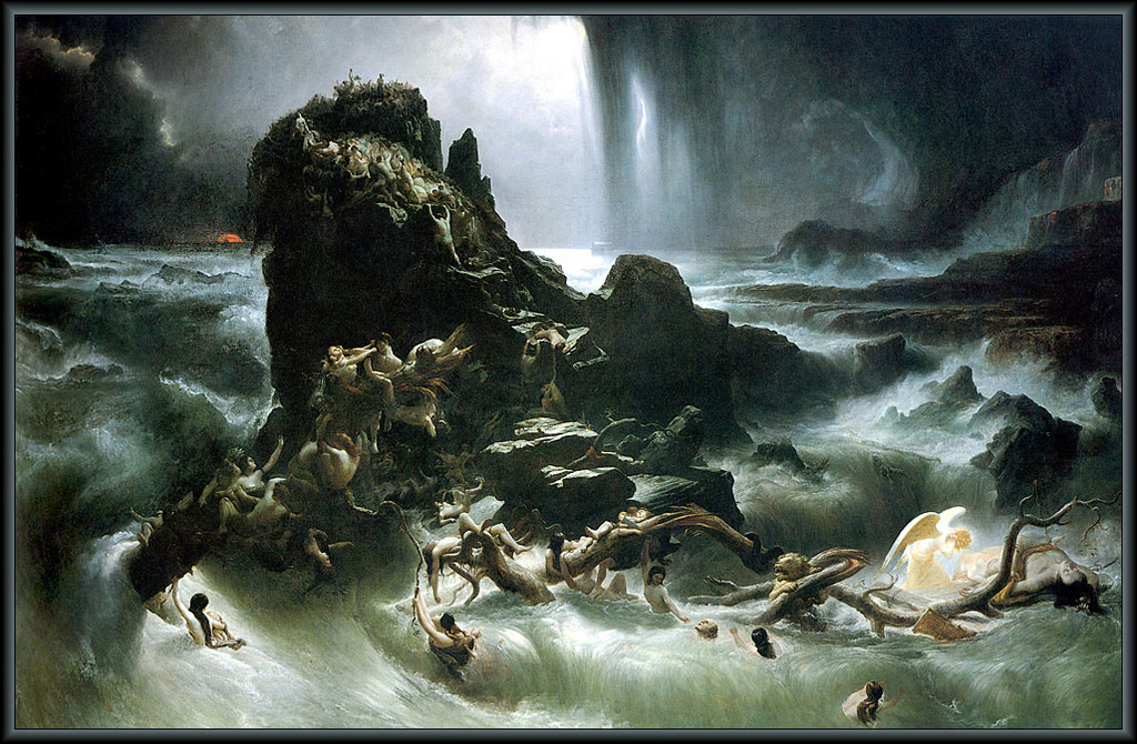 The Deluge by Francis Danby, 1840