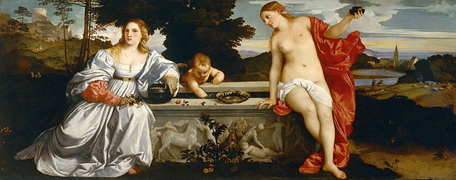 Sacred and Profane Love by Titian