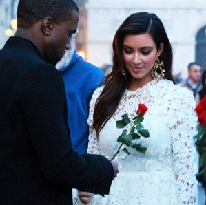 Down with romantic love - kim kardashian and Kanye West