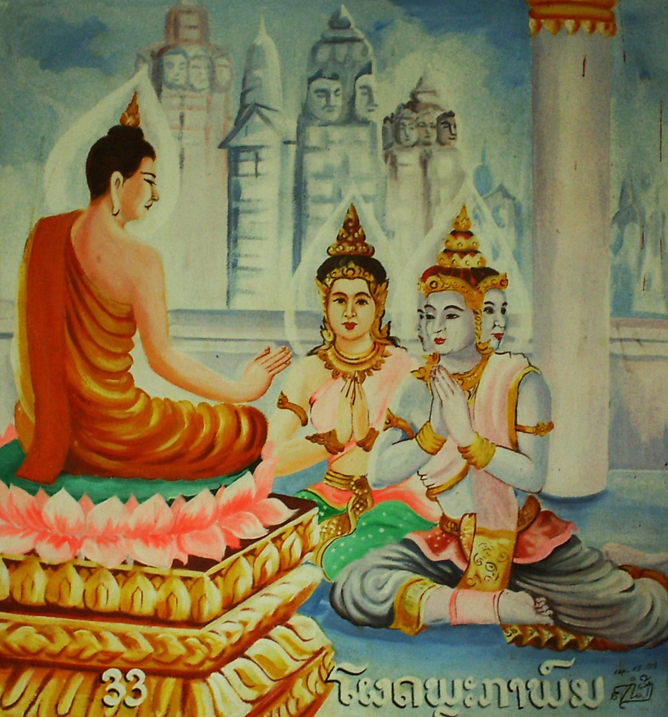 a history of buddhism in a hindu environment in india