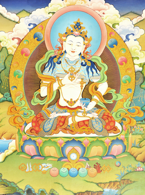 Vajrapani in peaceful form