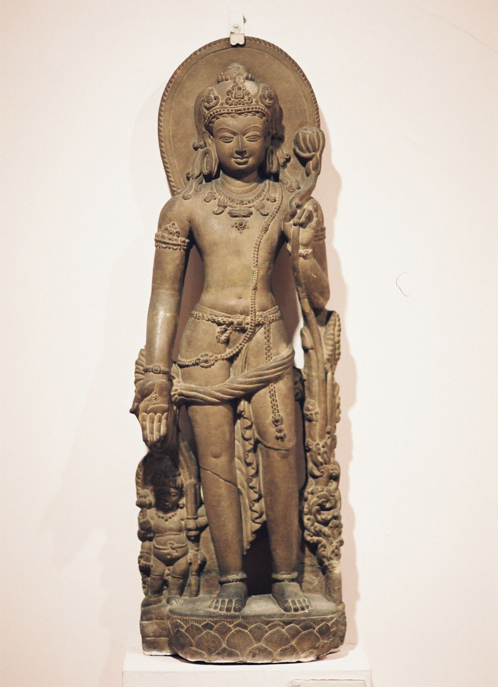 Sculpture of Khasarpana Lokesvara (Avalokitesvara)