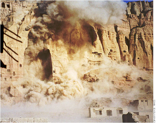 Destruction of Buddhas of Bamyan, Afghanistan