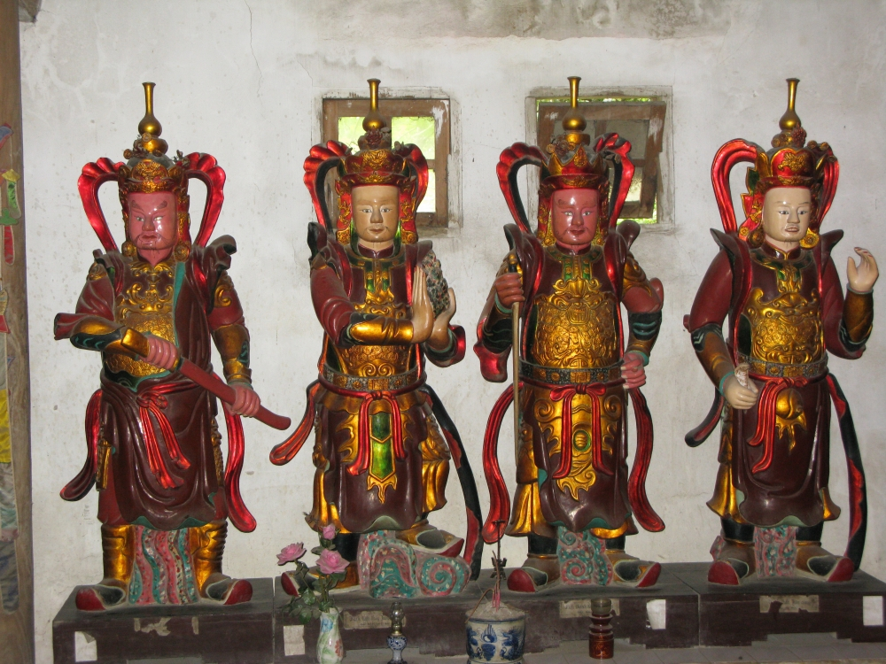Four Lokapalas: Guardians of the Buddha land